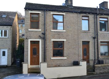 Thumbnail End terrace house for sale in Green Lane, Greetland, Halifax