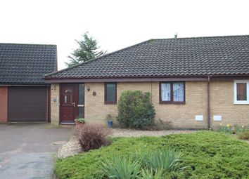 Thumbnail 1 bed semi-detached bungalow for sale in Lingside, Martlesham Heath, Ipswich