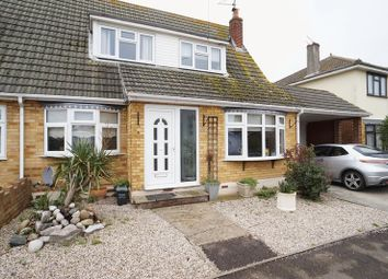 Thumbnail 3 bed semi-detached house for sale in Tewkes Road, Canvey Island