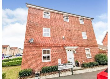 Thumbnail 4 bed end terrace house for sale in Wellstead Way, Hedge End, Southampton
