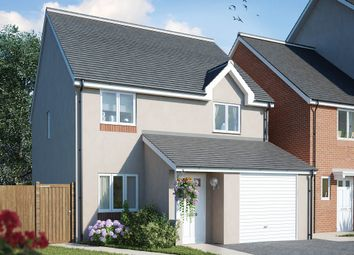 Thumbnail 3 bed detached house for sale in Aberthaw Road, Newport
