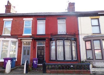 Thumbnail 4 bed terraced house for sale in Arundel Avenue, Aigburth, Liverpool, Merseyside