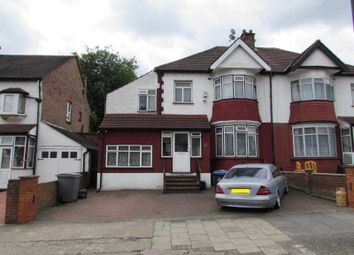 Thumbnail 7 bed flat for sale in Braemar Avenue, Wembley
