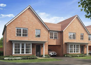 "Thumbnail 4 bed terraced house for sale in ""Chesham Special"" at Gold Furlong, Marston Moretaine, Bedford"
