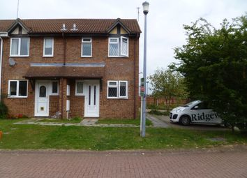 Thumbnail 2 bed end terrace house to rent in Stonybeck Close, Westlea, Swindon