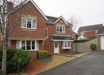 Thumbnail 4 bedroom detached house for sale in Esgid Mair, Barry