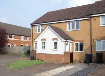 Thumbnail 2 bed terraced house to rent in Denton Drive, Marston Moretaine, Bedford