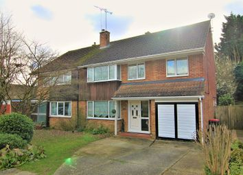 Thumbnail 5 bed semi-detached house for sale in Lambourne Close, Crawley, West Sussex.
