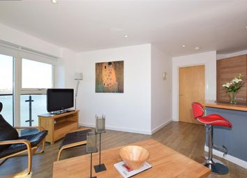 Thumbnail 3 bed flat for sale in Carmichael Avenue, Greenhithe, Kent