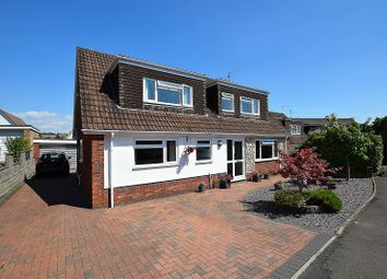 Thumbnail 4 bed detached house for sale in North Rise, Llanishen, Cardiff.