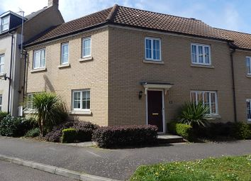 Thumbnail 3 bed terraced house to rent in Christie Drive, Huntingdon