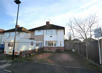 Thumbnail 3 bedroom semi-detached house for sale in Northumberland Crescent, Feltham