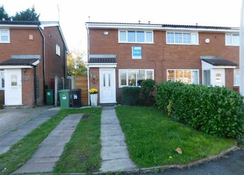 Thumbnail 2 bed end terrace house for sale in Hoxton Close, Bredbury, Stockport