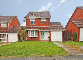 Thumbnail 3 bed detached house for sale in Mercot Close, Redditch