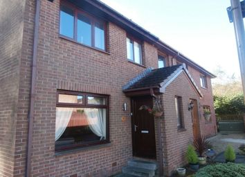 Thumbnail 3 bed semi-detached house for sale in Robertson Way, Livingston