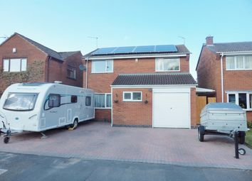 Thumbnail 4 bed detached house for sale in Maryland Close, Barwell, Leicester