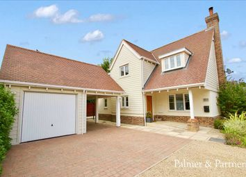 Thumbnail 4 bed detached house for sale in Evergreen Close, Crowfield, Ipswich, Suffolk
