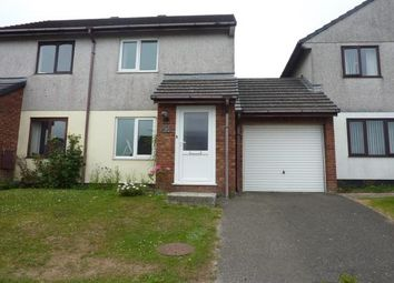 Thumbnail 2 bed semi-detached house to rent in Kingsley Court, Fraddon, St. Columb