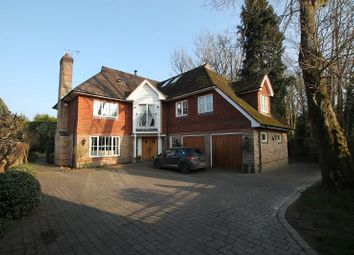 Thumbnail 5 bedroom detached house for sale in Church Road, Worth, Crawley, West Sussex.