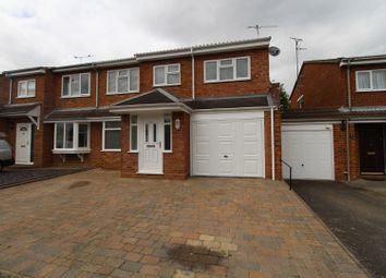 Thumbnail 4 bed semi-detached house for sale in Hutton Way, Woburn Sands