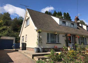 Thumbnail 3 bed semi-detached bungalow for sale in Reservoir Road, Beaufort, Ebbw Vale