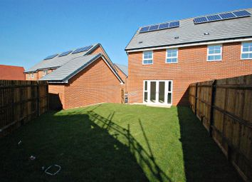 Thumbnail End terrace house to rent in Foxglove Way, Clanfield, Waterlooville