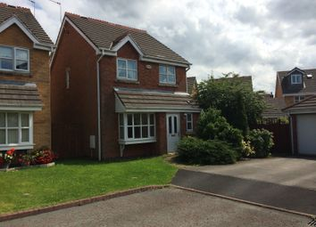 Thumbnail 3 bed detached house to rent in Rosevale Close, Hindley