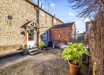 Thumbnail 2 bedroom terraced house for sale in Paston Road, Mundesley, Norwich