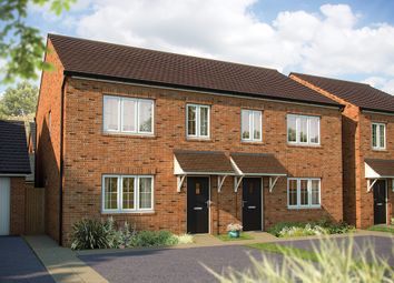 "Thumbnail 3 bed semi-detached house for sale in ""The Hazel "" at Stafford Road, Eccleshall, Stafford"