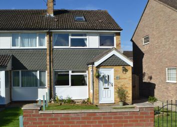 Thumbnail 4 bed end terrace house for sale in Swansdown Walk, Thatcham