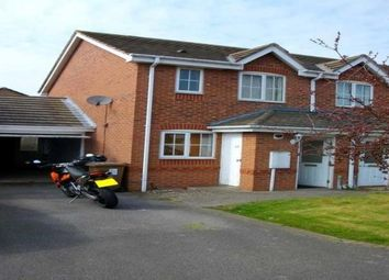 Thumbnail 2 bedroom semi-detached house to rent in Pinglehill Way, Chellaston, Derby