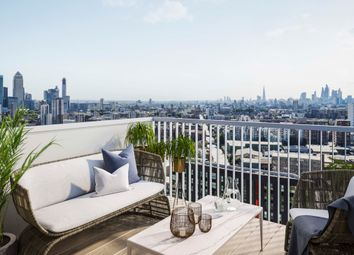 Thumbnail 1 bed flat for sale in Three Waters, London
