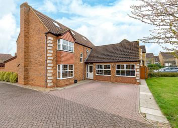 Thumbnail 5 bed detached house for sale in Corvus Close, Royston
