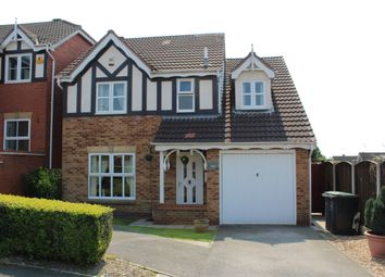 Thumbnail 4 bed detached house for sale in Salcombe Close, Newthorpe