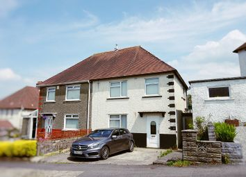 Thumbnail 3 bed semi-detached house to rent in Caederwen Road, Neath, Neath Port Talbot.