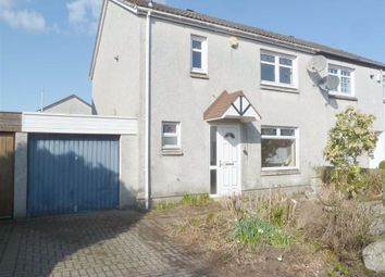 Thumbnail 3 bed semi-detached house for sale in Talisman Rise, Livingston