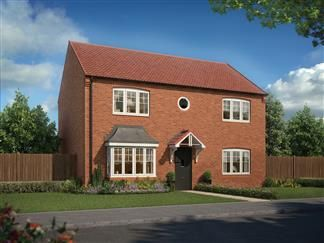 Thumbnail 4 bed detached house for sale in Collingwood Manor, Loansdean, Morpeth