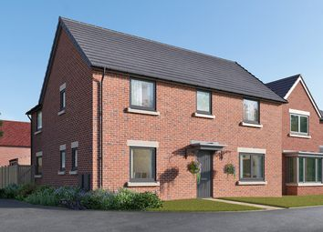 "Thumbnail 4 bed detached house for sale in ""The Kempthorne"" at Cautley Drive, Killinghall, Harrogate"