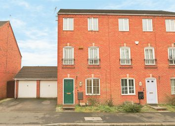 Thumbnail 3 bed town house for sale in Jackson Drive, Bestwood, Nottingham