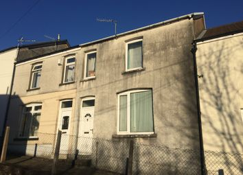 Thumbnail 3 bedroom terraced house for sale in Heath Crescent, Graigwen, Pontypridd