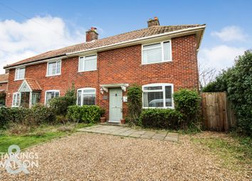 Thumbnail 3 bed semi-detached house for sale in Beccles Road, Thurlton, Norwich