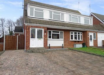 Thumbnail 3 bed semi-detached house for sale in Gaiger Close, Chelmsford, Essex
