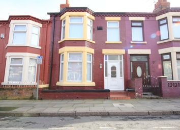 Thumbnail 3 bed terraced house to rent in Skipton Road, Anfield, Liverpool