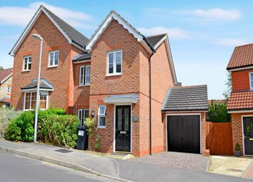 Thumbnail 3 bed semi-detached house to rent in Ascott Way, Newbury, Berkshire