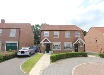 3 bed semi-detached house for sale in Longbridge Close, Easingwold, York YO61