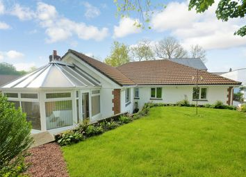 Thumbnail 4 bed detached bungalow for sale in St Georges Road, Nanpean, St Austell, Cornwall