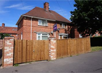 Thumbnail 2 bedroom semi-detached house for sale in Saxondale Drive, Nottingham