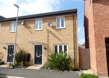 Thumbnail 3 bed semi-detached house for sale in Herald Way, Peterborough