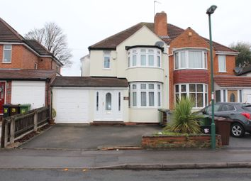 Thumbnail 3 bed semi-detached house to rent in Arnold Road, Shirley, Solihull, West Midlands