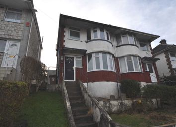 Thumbnail 3 bed semi-detached house to rent in Cardinal Avenue, Plymouth